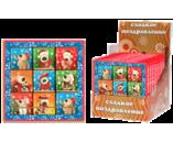 045г шоколадная фигурка НАБОР ПРЕМИУМ 3х3 СЕМЕЙКА БУФФИКОВ (3бл. х 12шт) (натуральный шоколад)