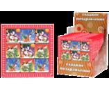 045г шоколадная фигурка НАБОР ПРЕМИУМ 3х3 (ПУШИСТИКИ) (3бл. х 12шт) (натуральный шоколад)