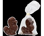 040г шоколадная фигурка БОЛОНКА (молоч.шоколадная , в пакете) (х 20шт) (натуральный шоколад)