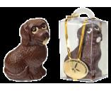 090г шоколадная фигурка БЕТХОВЕН в инд. упаковке (с декором) (х 15шт) (натуральный шоколад)
