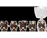 060г шоколадная фигурка «ЗВЕРУШКИ ОЧАРОВАШКИ» (х 16шт) (Натуральный шоколад)