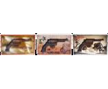 125г шоколадная фигурка РЕВОЛЬВЕР (х 8шт) (натуральный шоколад)