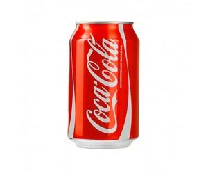 Кока Кола (Coca-Cola) 0,33 л (24 шт) ж/б оптом