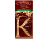 Горький шоколад Коркунов с лесным орехом 100г