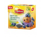 Lipton Blueberry Muffin (Чай Липтон Пирамидка Кекс С Кусочками Черники 20 пакетиков 1х12)