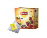 Lipton Cherry Morello (Чай Липтон Пирамида Вишня 20 пакетиков 1х12)