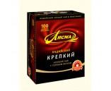 Лисма Чай Крепкий (100г 1х6 С Подарком 25 пакетиков Бергамот)