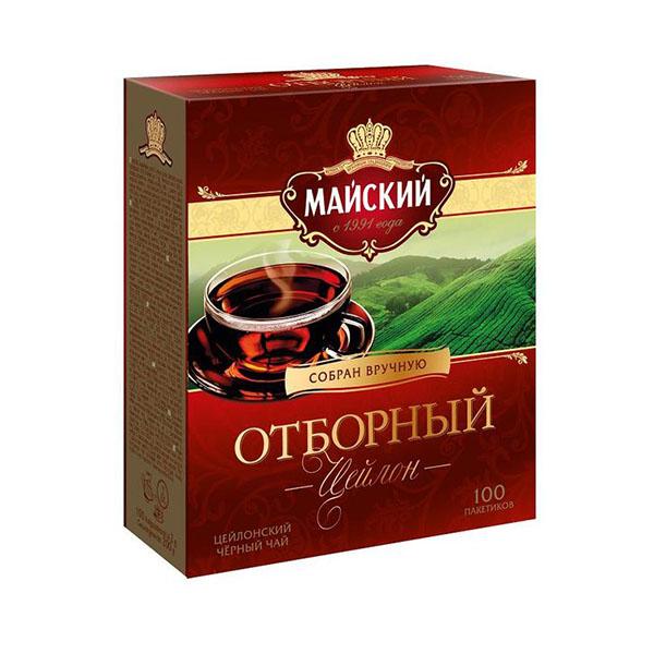 майский чай 100 пакетиков цена