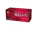 Чай Принцесса Ява Каркаде Дубль (25 пакетиков 1х48)